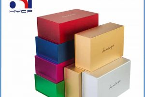 Color paper box customized by Haiying