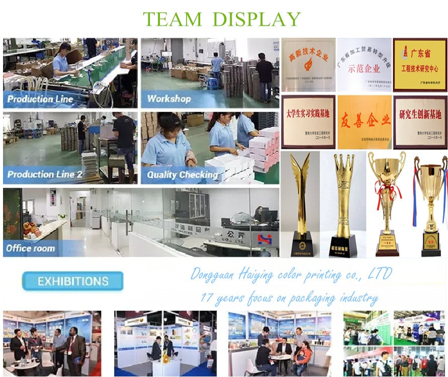 Haiying team display
