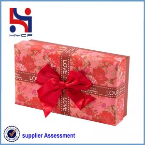 A candy color paper box