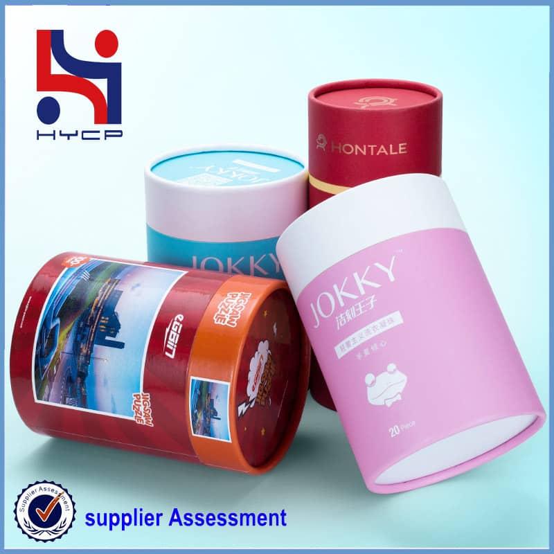 kraft paper canister