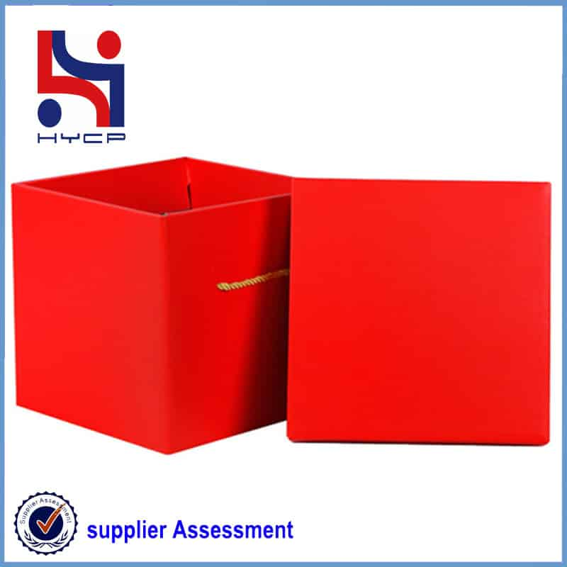 boxes with lid and base