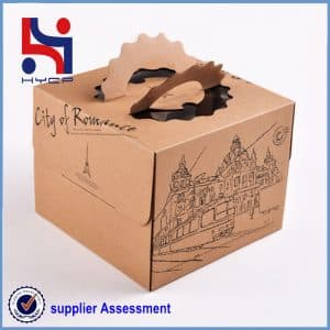 The kraft paper carton