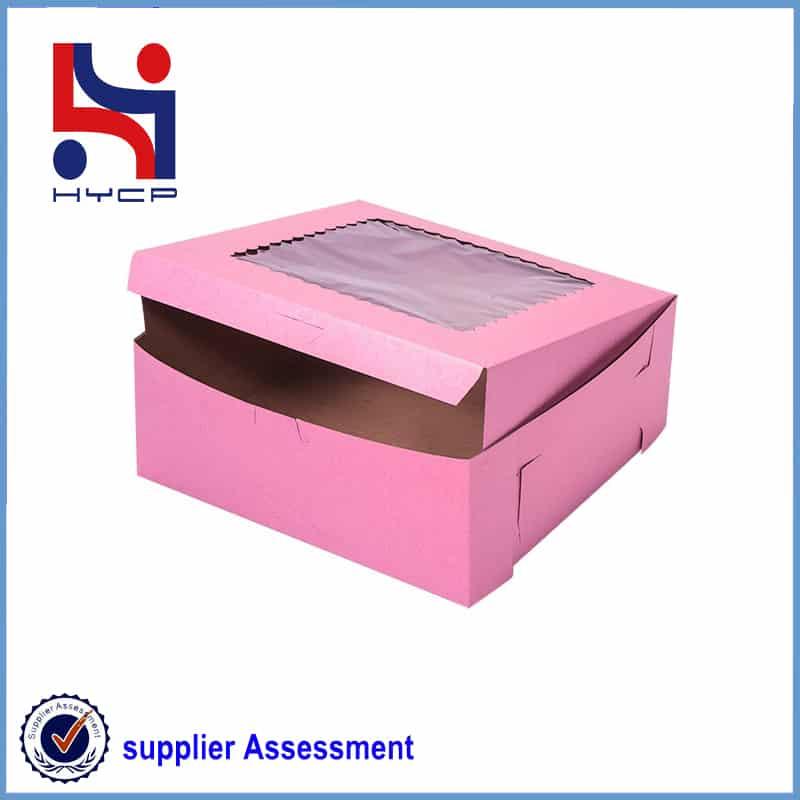 window bakery box
