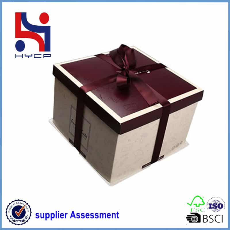 Cake box factory