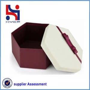Box has lid and base
