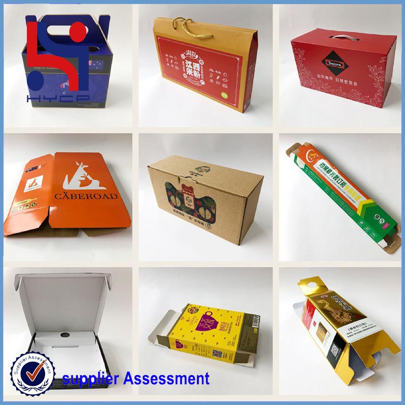 colorful paper boxes