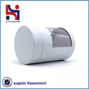 A kraft paper cans