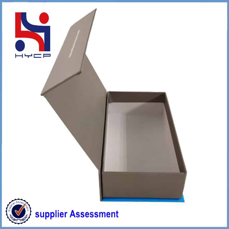 box with flip-top