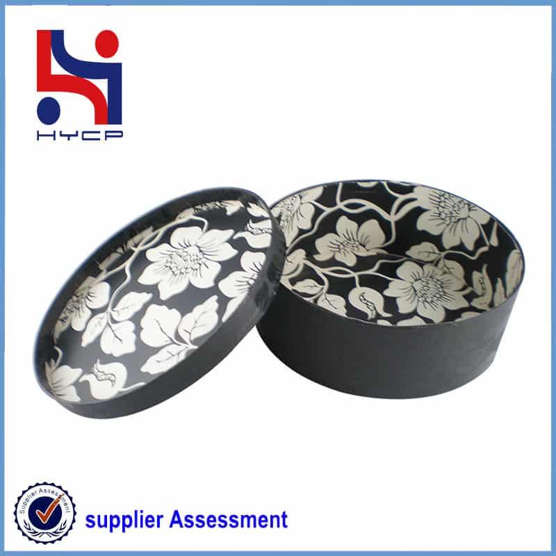 round paper box