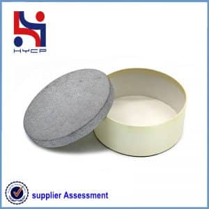 A round paper box