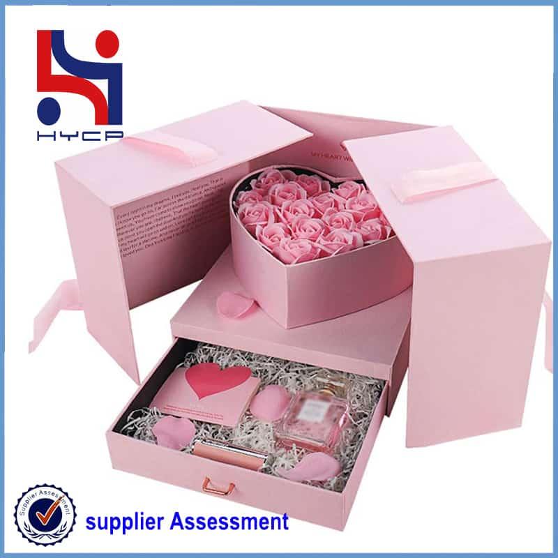 rose drawer gift box